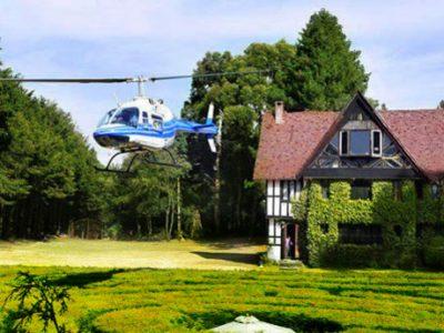 laberinto en helicóptero