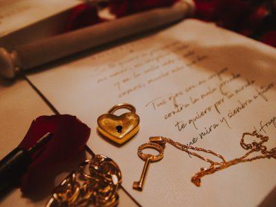 Llave a una carta de amor